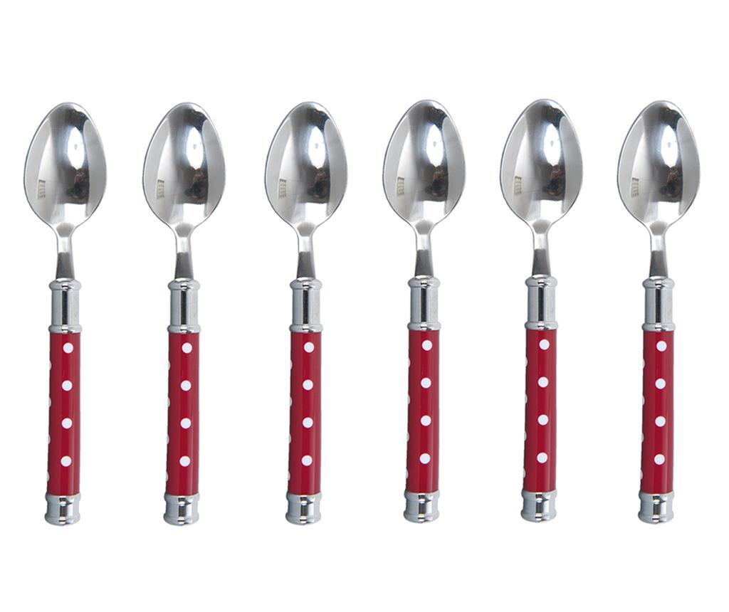Set 6 linguri Davina Red