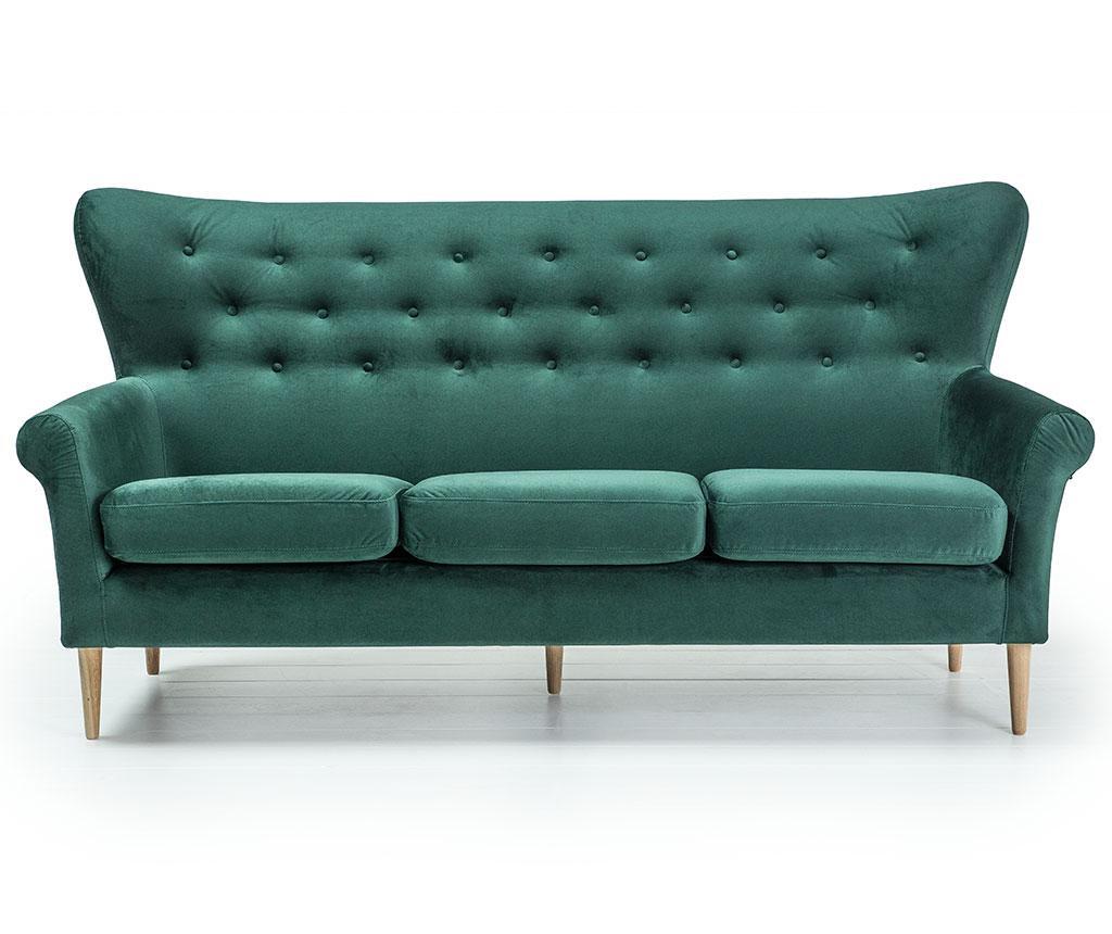 Kauč trosjed Amelie Dark Green