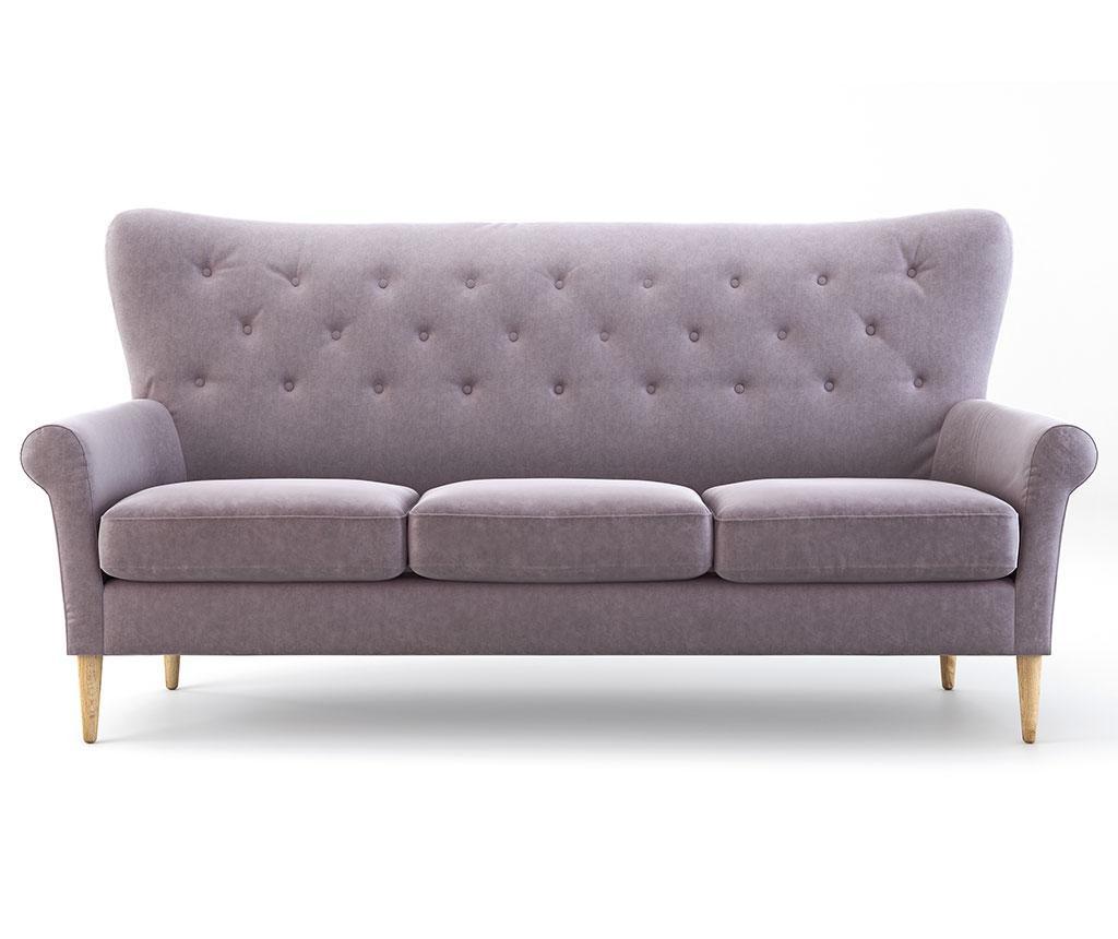 Kauč trosjed Amelie Powder Pink