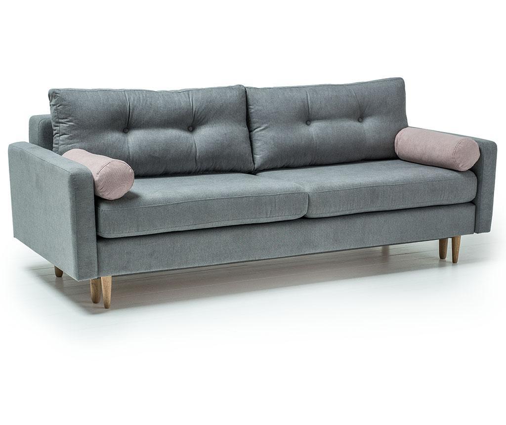 Canapea extensibila 3 locuri Pure Soro Grey