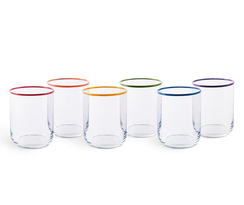 Sada 6 sklenic Filo Color 350 ml
