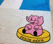 Covor de joaca Elephant 100x150 cm