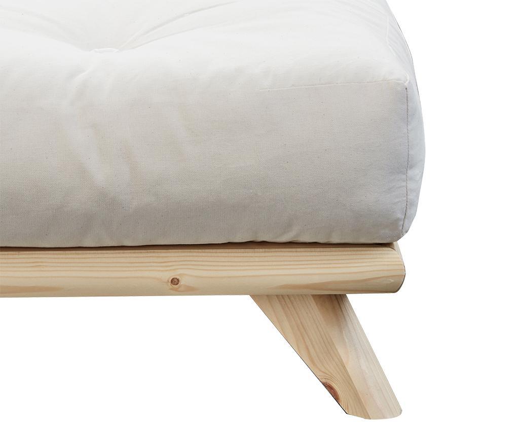 Krevet Senza Natural Bege 140x200 cm