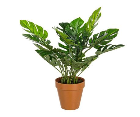 Umjetna biljka u posudi Monstera