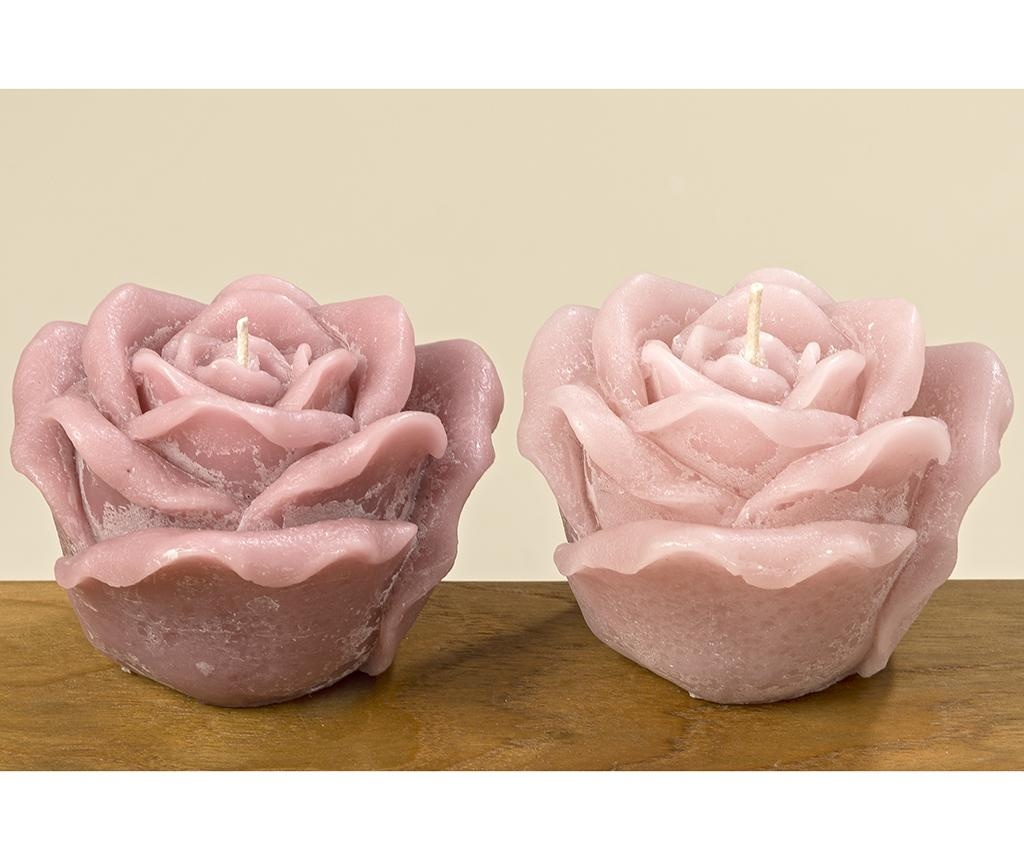 Rose Light Pink Gyertya
