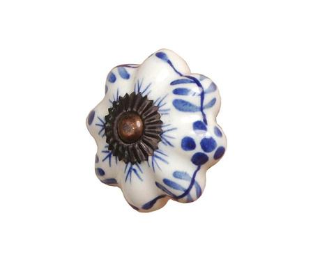 Úchytka na zásuvku Blue Petals