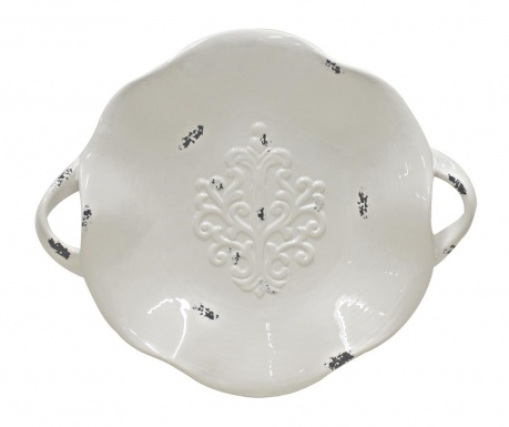 Platou decorativ Danielle Antique White