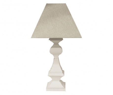 Lampka Paride White Natural