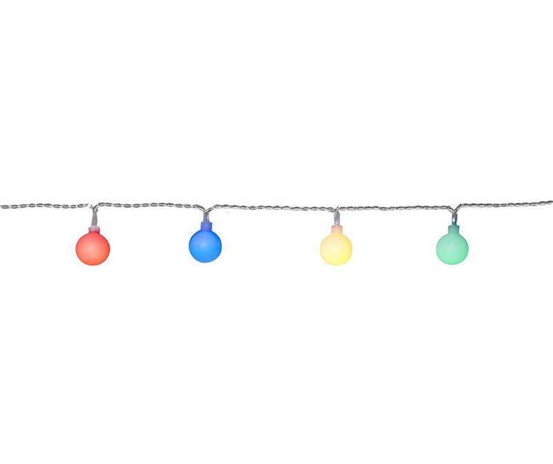 Vrtna svetlobna girlanda Berry Multicolor