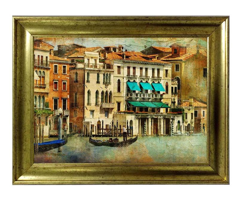 Slika Venice by Boat 60x80 cm