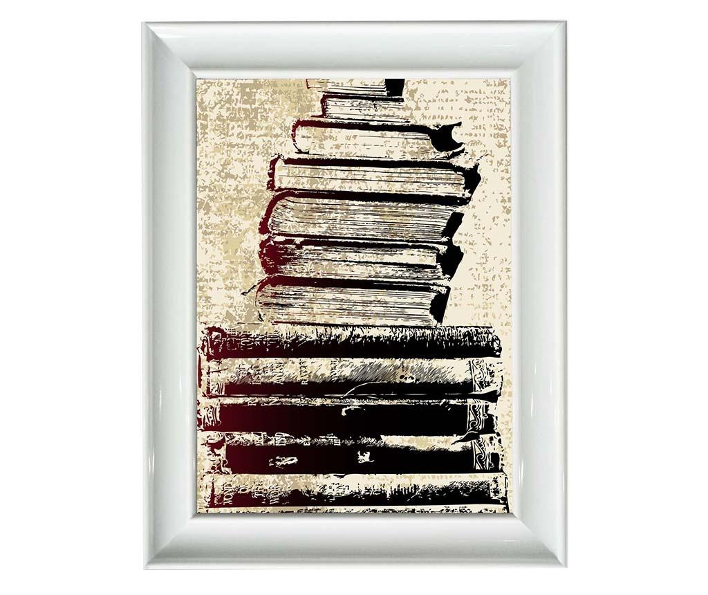 Obraz Books 40x50 cm
