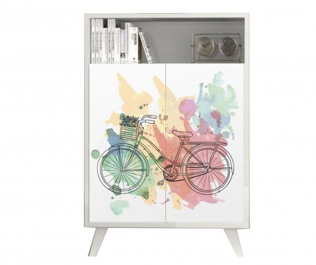 Dulapior Katy Bicycle White