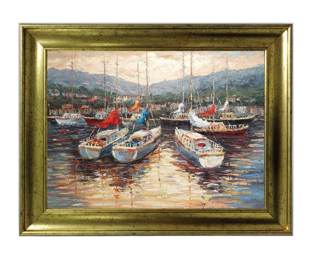 Boats Kép 60x80 cm