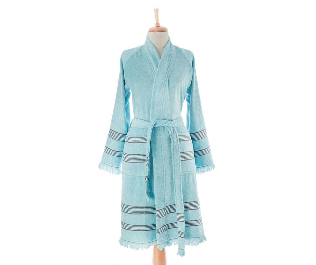 Ženski kopalni plašč Softy Blue S/M