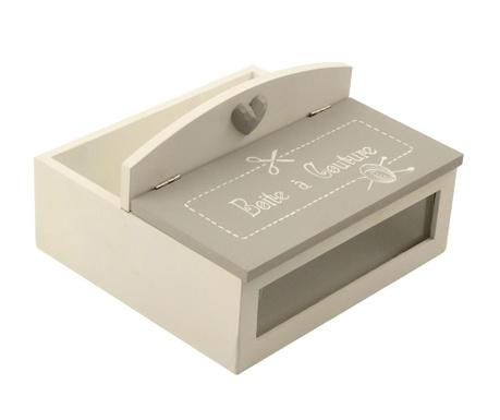 Кутия с капак за шивашки аксесоари Couture