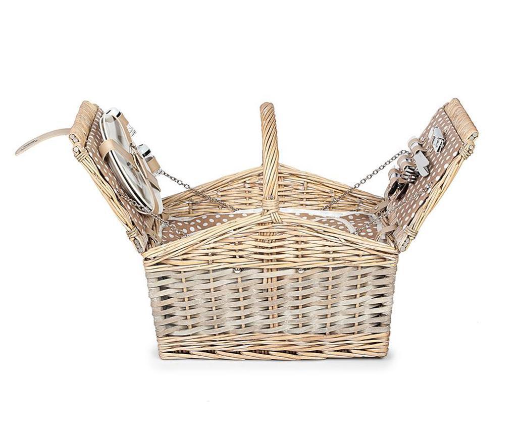 Cos echipat pentru picnic 2 persoane Irene