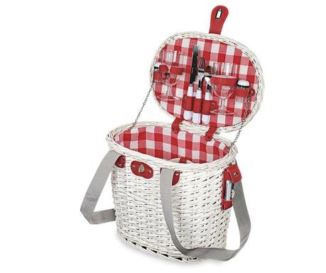 Košara za piknik s priborom za 2 osobe Missy