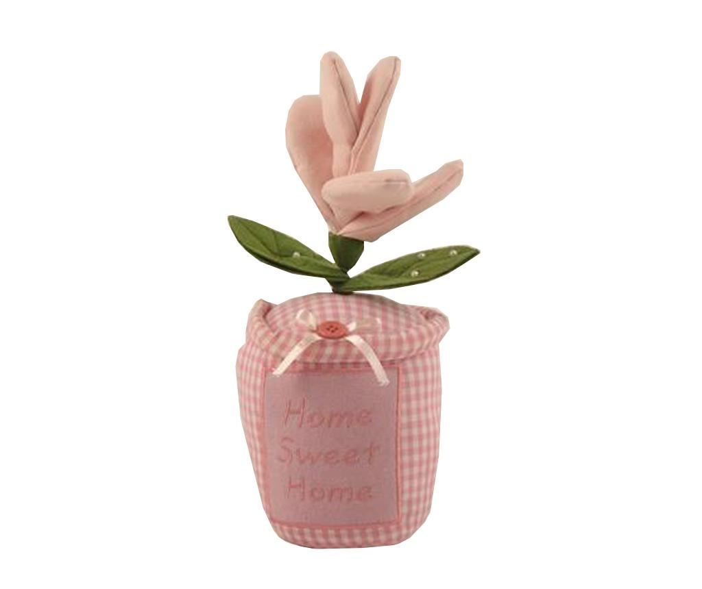 Flower Pot Pink Ajtótámasz