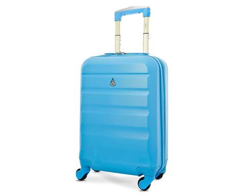 Walizka na kółkach Aerolite Adelaide Blue 35 L