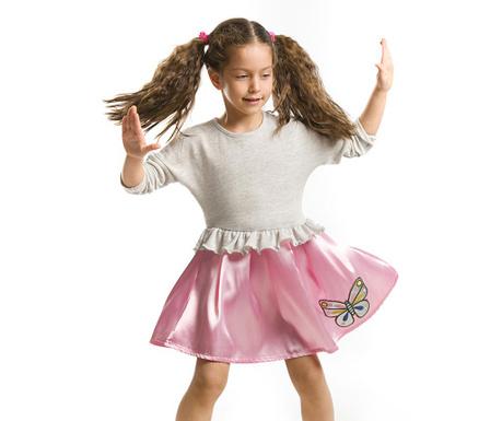 Otroška obleka Silver Butterfly 6 let