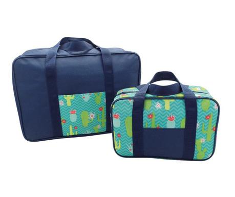 Комплект 2 термоизолиращи чанти Snap Cactus