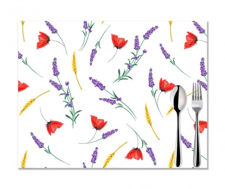 Комплект 2 подложки за хранене Sunny Flowers 33x45 см
