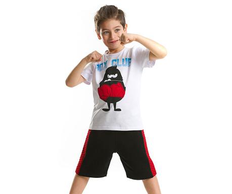 Set tricou si pantaloni scurti pentru copii Boxer Monster