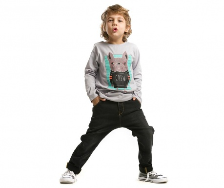 Set bluza si pantaloni pentru copii Crew BullDog
