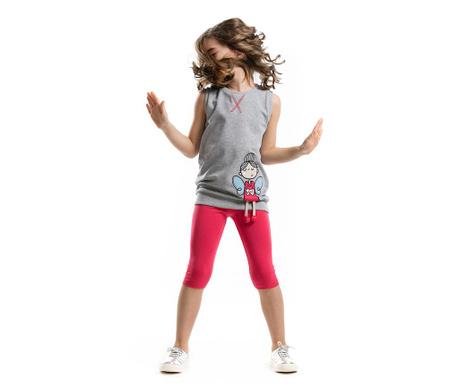 Set tricou si colanti pentru copii Angle