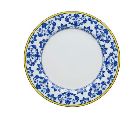 Плитка чиния Castelo Ornamental Blue