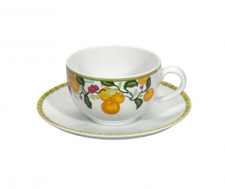 Комплект чашка и чинийка за чай Algarve Nature