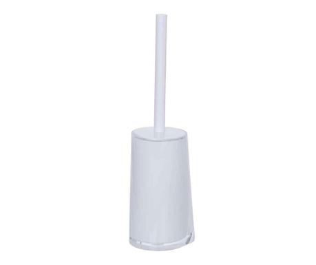 Szczotka toaletowa z pojemnikiem Paradise White