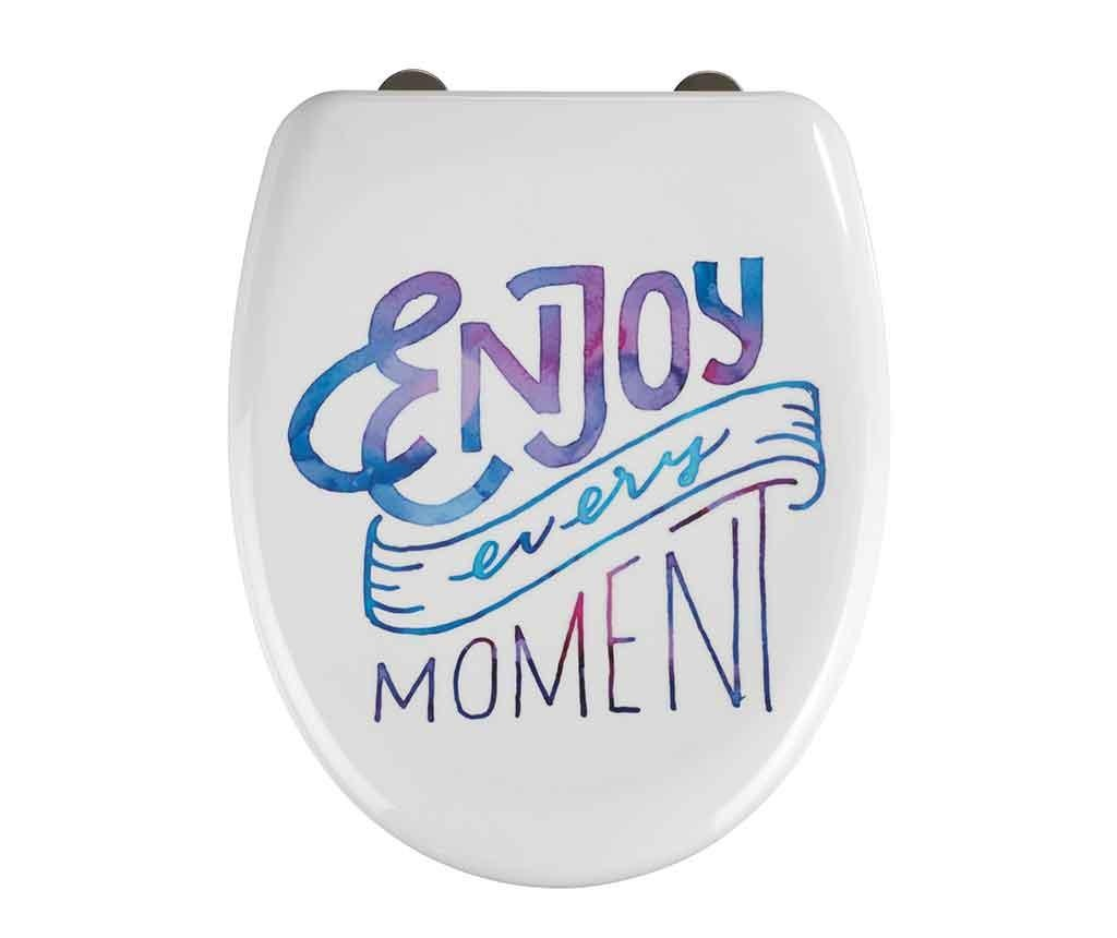 Capac pentru toaleta Enjoy Every Moment