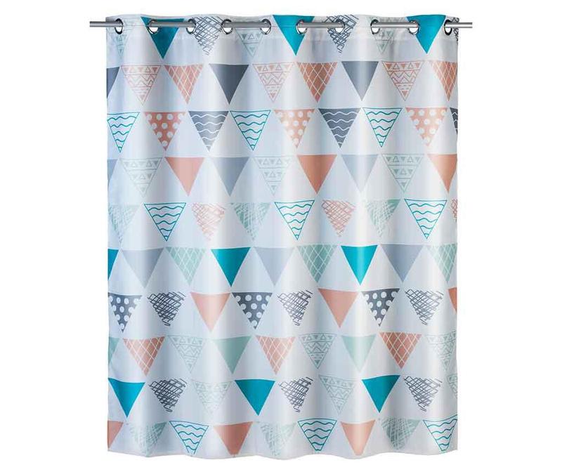 Zavesa za prho Ethno Flex 180x200 cm