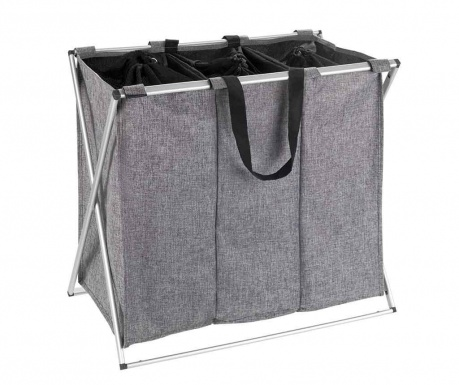 Kosz na pranie Trio Grey 130 L