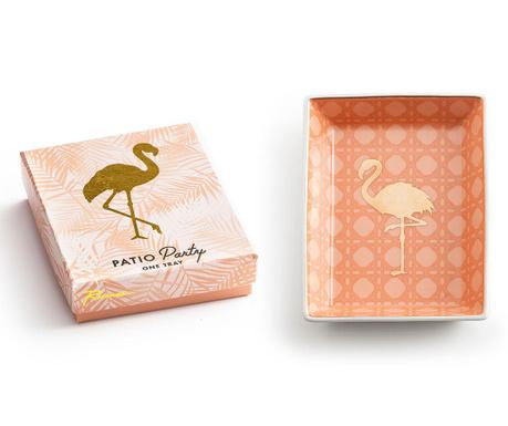 Patera dekoracyjna Flamingo
