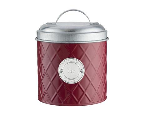 Съд с капак с херметическо затваряне за чай Henrik Red