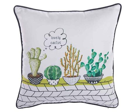 Poszewka na poduszkę Lovely Cactus 43x43 cm