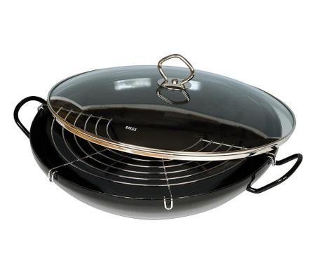 Posuda za kuhanje na pari Wok Blaksar 36 cm