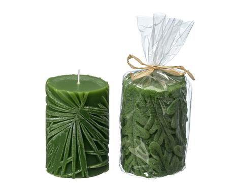 Zestaw 2 świeczek Leaf Cosette