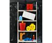 Škatla s pokrovom Lego Square Four Red