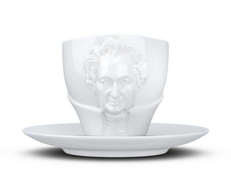 Set šalica i tanjurić Johann Wolfgang von Goethe