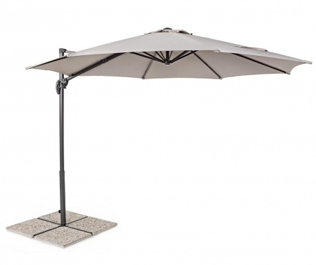 Parasol ogrodowy Yand Taupe