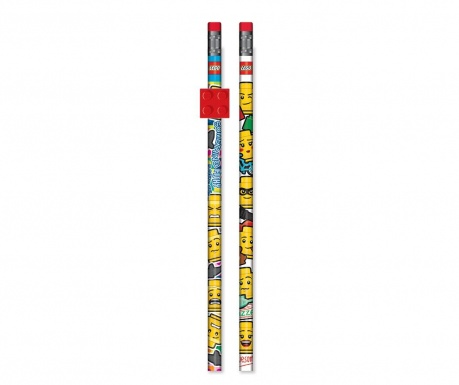 Set 2 svinčnikov Lego
