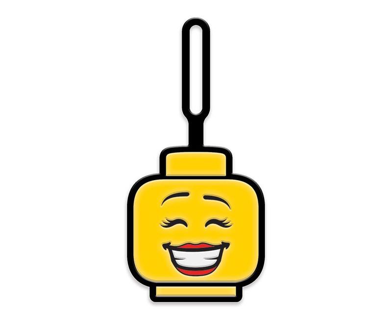 Oznaka za prtljago Lego Girl Face