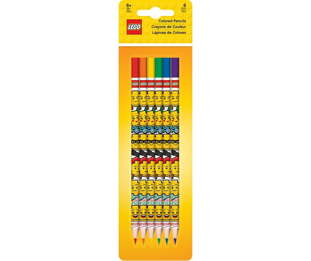 Lego 6 db Színes ceruza