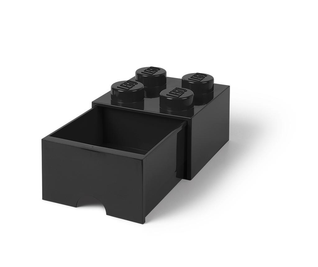 Shranjevalna škatla Lego Square One Black