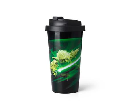 Potovalna termo skodelica Star Wars Yoda 500 ml
