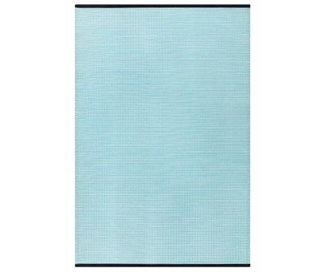 Covor plastic Stripes Aqua 150x240 cm