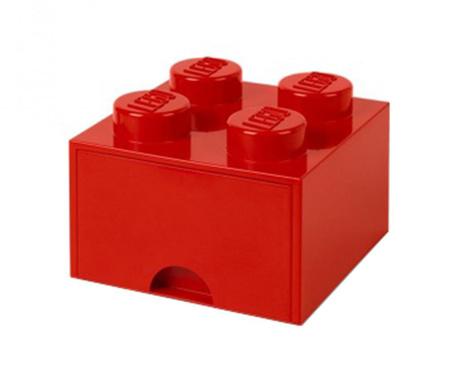 Kutija za pohranu Lego Square One Red